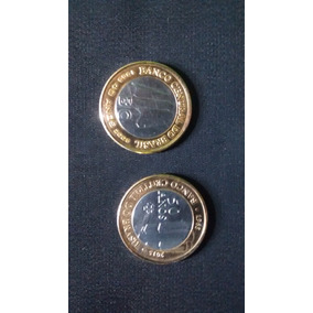 2 Moedas Do Banco Central . Bc 2005 , 50 Anos 2015