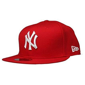 New Era Gorra New York Yankee Mlb Gorra Ajustada Rojo 7 03abdbacc05