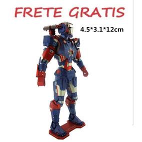 Metal 3d Puzzle Iron Man Frete Grats