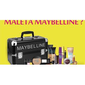 Maleta Maquiagem Completa Maybelline Profissional Maquiador