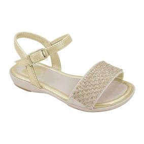 a29093a2a Sapato Infantil Menina Pampili Tamanho 20 - Sapatos 20 Dourado no ...