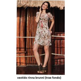 Vestido Rinna Bruni Multicolor 15505..outlet/saldos Mchn