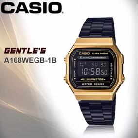 102b9c50686 Relogio Casio Preto - Relógio Casio no Mercado Livre Brasil