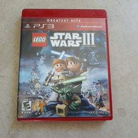 Jogo Ps3 Lego Star Wars Clone Wars Original Completo
