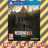 Resident Evil 7 Biohazard Ps4 | 1ria | Jugas Con Tu Usuario