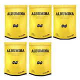 5x Albumina 500g Naturovos Total 2,5kg - Validade Fev/2021