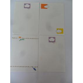 Papel De Carta Coleção Diversos 4un