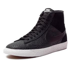 best service b6cab 5c9d7 Zapatillas Botas Nike Blazer Mid Prm Originales De Mujer