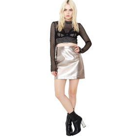 Mini Falda Metálica