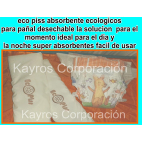 Absorbente Ecologico Recicla Tus Pañales Desechables