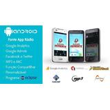 Aplicativo Rádio E Web Rádio Android - Código Fonte