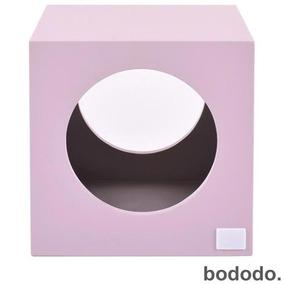 Banco Infantil Cubo Rosa - Bododo