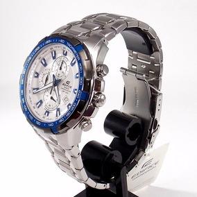 Relógio Casio Edifice Ef-539d-7a2 48mm Wr100 - 100% Original