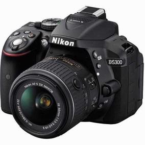 Câmera Digital Nikon D5300 24mp Kit 18-55mm Vr Dx Wifi