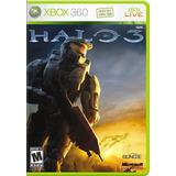 Videojuego Xbox 360 Halo 3 En Español