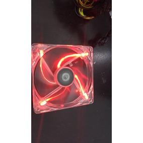 Cooler Para Gabinete Led Vermelho 12cm X 12cm X 5cm C3 Tech