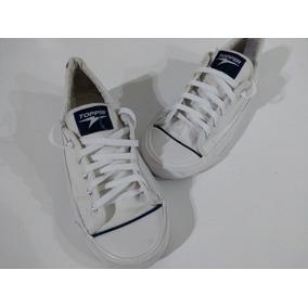Zapatillas Topper Blancas De Lona cab37371bc05c