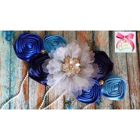 Cinturon De Maternidad Azul Embarazo Embarazada Niño