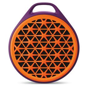 Caixa De Som Bluetooth Logitech X50 3w Rms Laranja