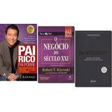 Kit Pai Rico / Negócio Seculo Xxi / Mentalidade (3 Livros)
