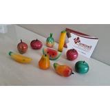 Juegos De Frutas De Piedra Onix Natural, Varios Diseños