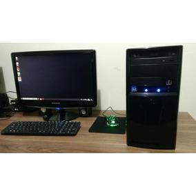 Computador Desktop Windows10 Pronto Para Usar Cpu+tela 15