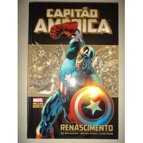 Capitao America Renascimento Panini Books De Luxe 2015 Excel