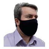 Máscara Dupla Face Anti Poeira Lavável Algodão Colorida