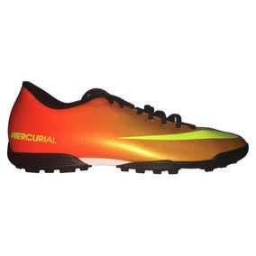 the latest deaa8 3de02 Tenis Nike Mercurial Vortex Tf 573872-778 Naranja