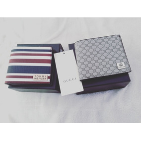 Billeteras 2x1 Gucci, Armani, Louis Vuitton