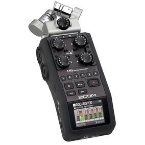 Gravador Zoom H6 Com Case Acessórios Na Caixa Original.