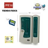 Tester Probador De Red Lan Telefono Rj45 Y Rj11 Jwk Vision