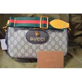 Gucci Supreme Shoulder Bag Jaguar Cafe