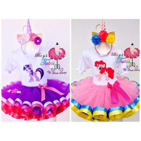 My Little Pony Twiligth O Pinkye Pie Tutú Cumpleaños