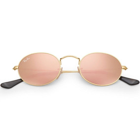 c5d896203df1d Ray Ban Rb3547n 001 z2 Oval Flat Lenses Rosa Espejo Icon