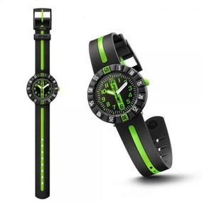 598cd76d4eb Relógio Swatch Flik Flak Green Ahead Semi Novo Oportunidade
