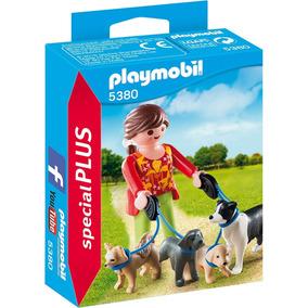 Playmobil 5380 Cães Tratadora De Cachorros Prod Europ. Promo