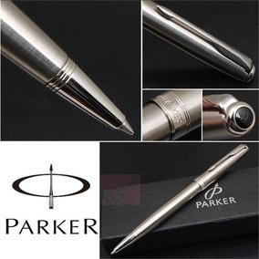 Caneta Esferográfica Parker Sonnet Stainless Steel Ct Silver