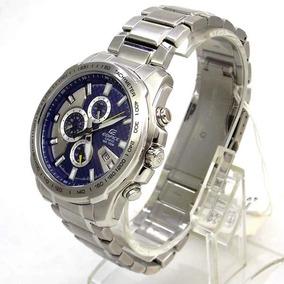 Relógio Casio Edifice Novo 100% Original Azul Ef-563d 2av