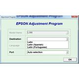 Reset Epson L395, L495