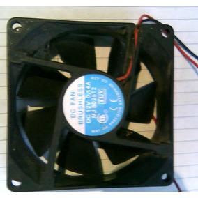 Ventilador Fan Cooler De Case Marca Brushless 8 Cm X 8 Cm