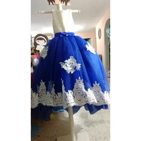 Vestidos de fiesta para ninas en azul rey