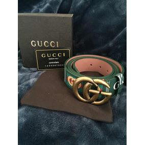2d3e881d2 Cinturon Gucci Original Verde Y Rojo Barato! - Cinturones Hombre ...