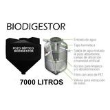 Tanque Biodigestor Autolimpiable 7000 Litros Tipo Rotoplas