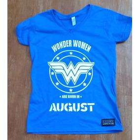 Sarcasmo Playera Wonder Women Personalizala Con Tu Mes!