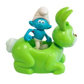 Veículo Com Mini Figura - Smurfs - Hefty Smurf E Bucky - Sun