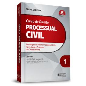 Curso De Direito Processual Civil Vol.1 21ª Edição (2019)