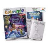 Kit 10 Revistas De Colorir Lembrancinha Personalizada Festa