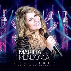 Cd Marília Mendonça - Realidade Ao Vivo Em Manaus (lacrado)