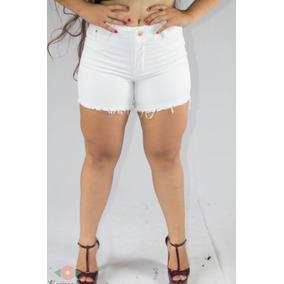 5ac0ac13d Short Branco Jeans Desfiado Outras Marcas - Shorts Jeans para ...